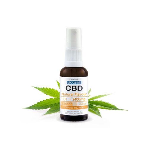 Access CBD kender kannabisz olaj 2400 mg természetes kender íz