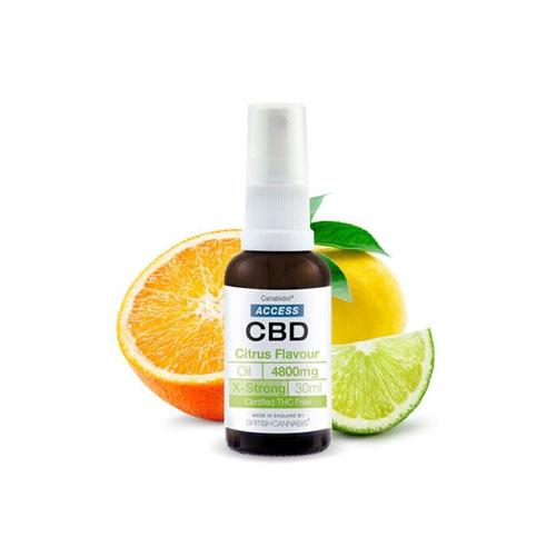 Access CBD kender kannabisz olaj 4800 mg citrusos íz