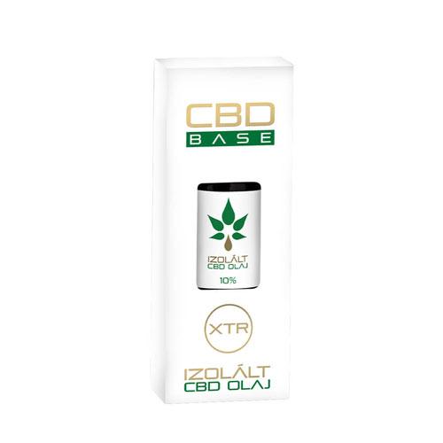 CbdBase izolált CBD olaj – 10% 30 ml 3000 mg doboz