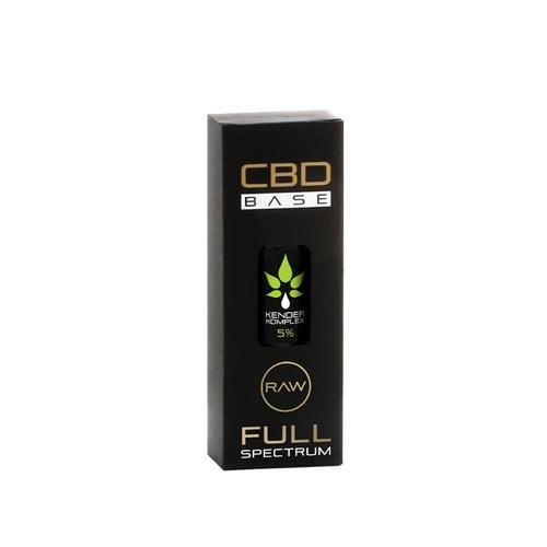 CbdBase Kender Komplex CBDA / CBD olaj – 5% 10 ml 500 mg doboz