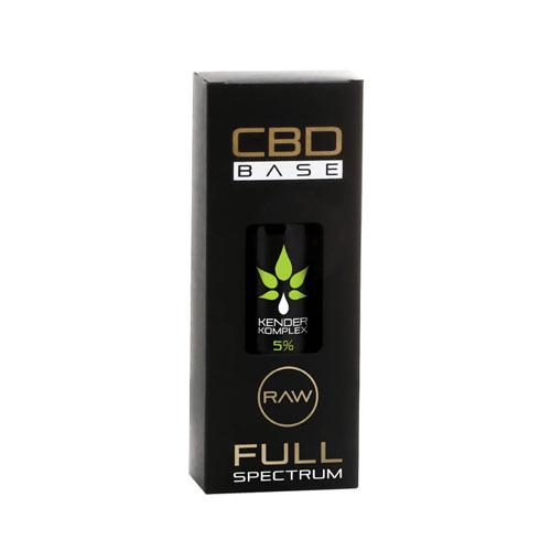 CbdBase Kender Komplex CBDA / CBD olaj – 5% 30 ml 1500 mg doboz