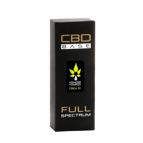 CbdBase Kender Komplex Raw teljes spektrumú CBD Cbga olaj – 5% 10 ml 500 mg doboz