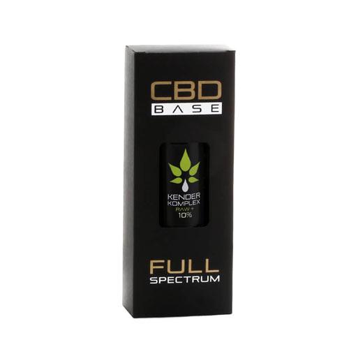CbdBase Kender Komplex Raw teljes spektrumú CBD olaj – 10% 30 ml 3000 mg doboz