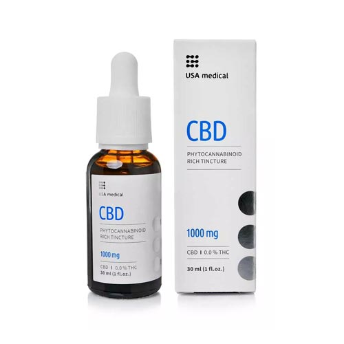 Usa Medical CBD kannabisz olaj 1000 mg 30 ml