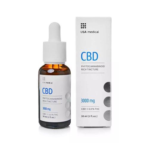 Usa Medical kannabisz CBD olaj 3000 mg 30 ml