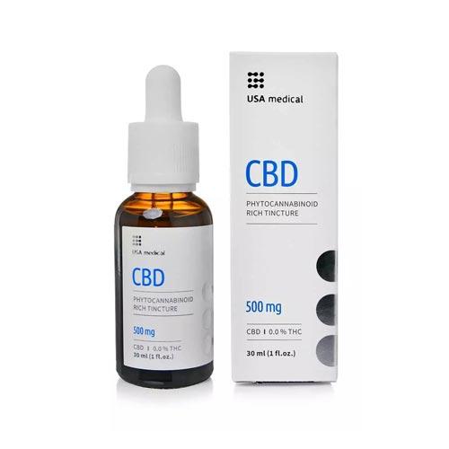 Usa Medical CBD olaj 500 mg 30 ml