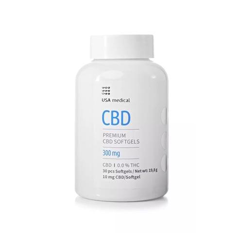 Usa Medical cbd kapszula 300 mg 30 db