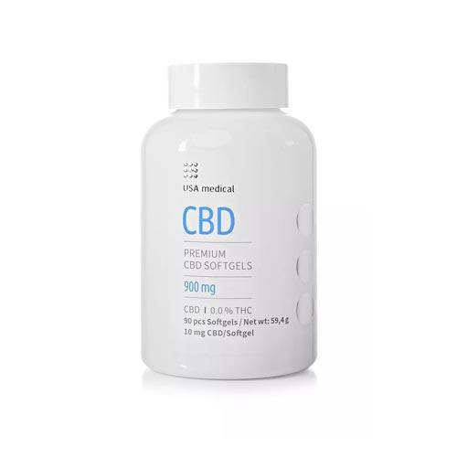 Usa Medical cbd kapszula 900 mg 90 db